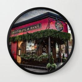 Boyds Jig and Reel Wall Clock