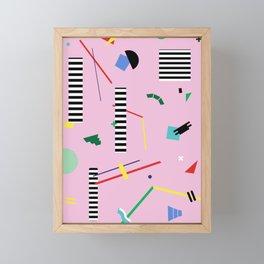 Geometry Lesson Framed Mini Art Print