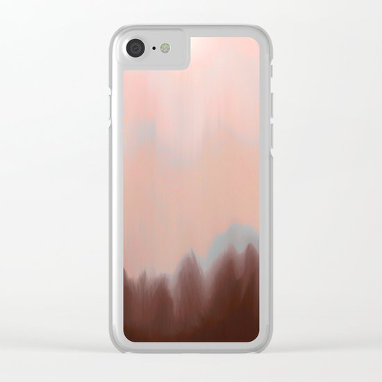 High Sun Clear iPhone Case