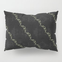Gold Ribbon Pillow Sham
