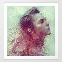 Vein Art Print