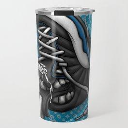 Sneaker Smoké Blue Royal Stain Travel Mug