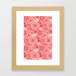 Bohemian Dream in Pink Framed Art Print