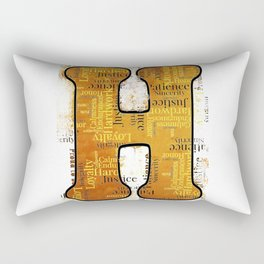 "Proud to be ""H"" Rectangular Pillow"