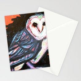 Barn Owl Blitz Stationery Cards