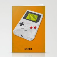 gameboy Stationery Cards featuring GameBoy by Vloh