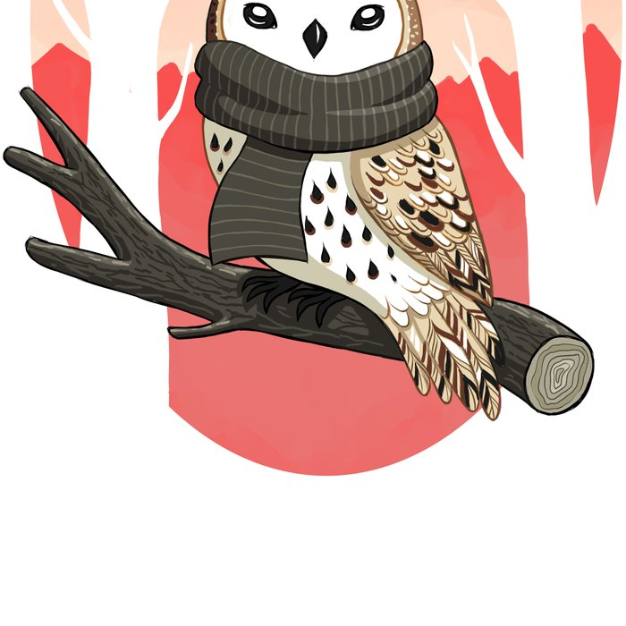 Winter Owl Leggings