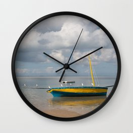 Birds on a Dhow Wall Clock