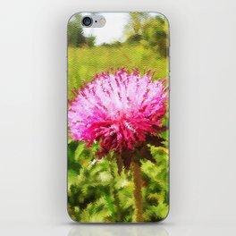 Thistles (Cirsium) iPhone Skin
