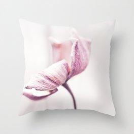 Still in Winter Throw Pillow