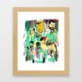 BOYS! Framed Art Print