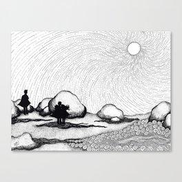 Selkie Beach Canvas Print