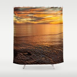Every Moment Matters Shower Curtain