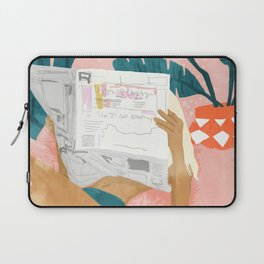 Morning News Laptop Sleeve