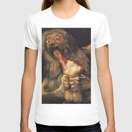 SATURN DEVOURING HIS SON - GOYA T-shirt