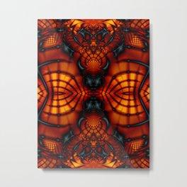 Fractal Art - Devil II Metal Print