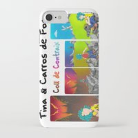 tina crespo iPhone & iPod Cases featuring Tina & Coll de Contraig by Tina