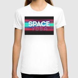 Space yoga T-shirt