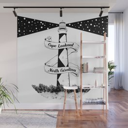 Cape Lookout Lighthouse Wall Mural