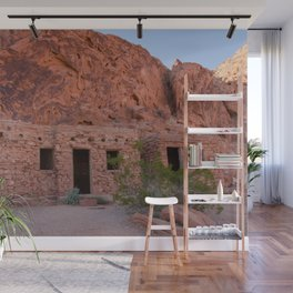 CCC Cabins-1, Valley of Fire State Park, Nevada Wall Mural