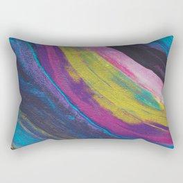Oil Slick Agate Rectangular Pillow