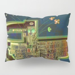 Good Vibes from the Robotic City Lab Pillow Sham
