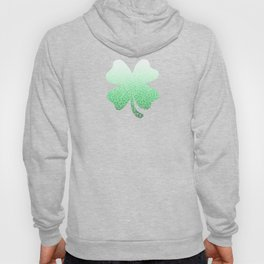 Ombre green and white swirls doodles Hoody