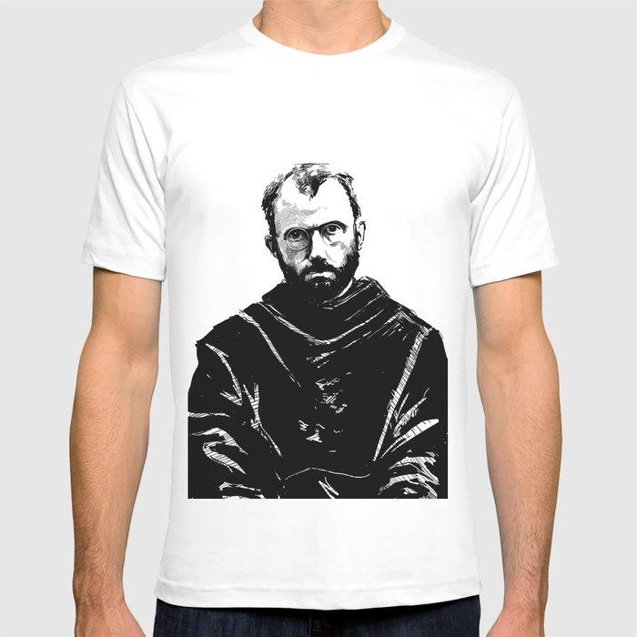 St Maximilian Kolbe T Shirt By Leibergart Society6