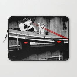 Stop the Freeway Overpass Scales Madness! Laptop Sleeve