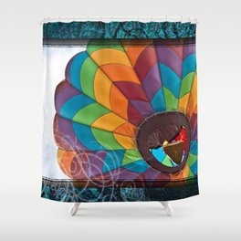 Burst of Color Shower Curtain