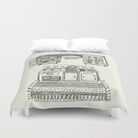 kitchen Duvet Covers featuring Kitchen by piankaB
