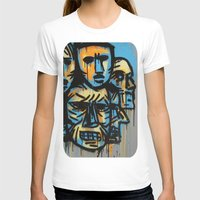 talking heads T-shirts featuring Heads by andres lozano
