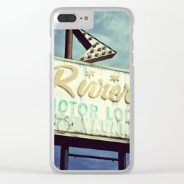The Riviera Clear iPhone Case