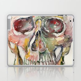 Human Skull Painting Laptop & iPad Skin