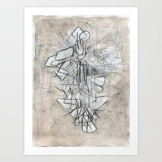 palimpsest I Art Print