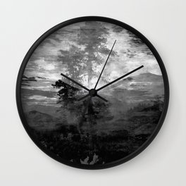 And With the Trees... Wall Clock