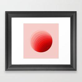 Tunnel to Saturn Framed Art Print