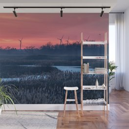 Long Point Sunsets Wall Mural