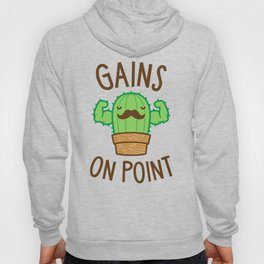 Gains On Point (Cactus Pun) Hoody