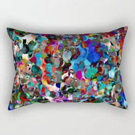 Red Dot Party Rectangular Pillow