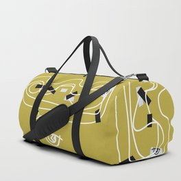 Fools [Sable Gold] Duffle Bag