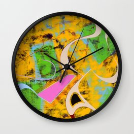 Their Ways Are Dizzying... Wall Clock