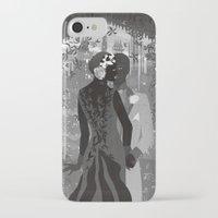gotham iPhone & iPod Cases featuring Gotham Twenties by Caroline Krzykowiak