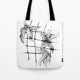 Starfish in a net Tote Bag