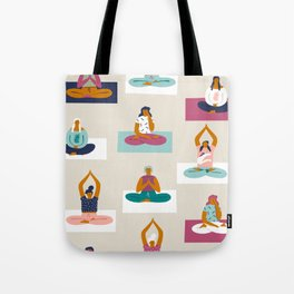Morning yoga Tote Bag