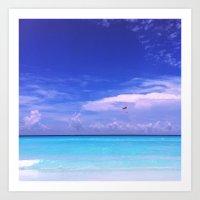 Nizuc Ocean Dreaming Art Print