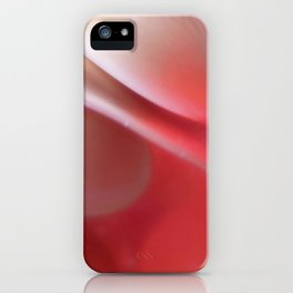 Pink in Abstract iPhone Case
