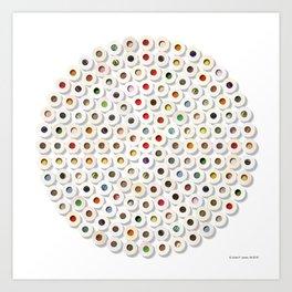 167 Toilet Rolls 01 Art Print