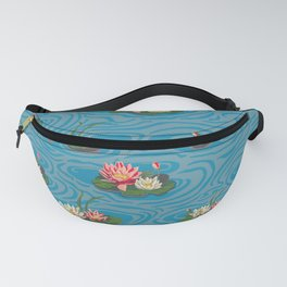 Paint by Numbers Water Lillies Fanny Pack