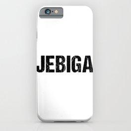Jebiga product - Lustiges Balkan Jugo Jugoslawien design iPhone Case